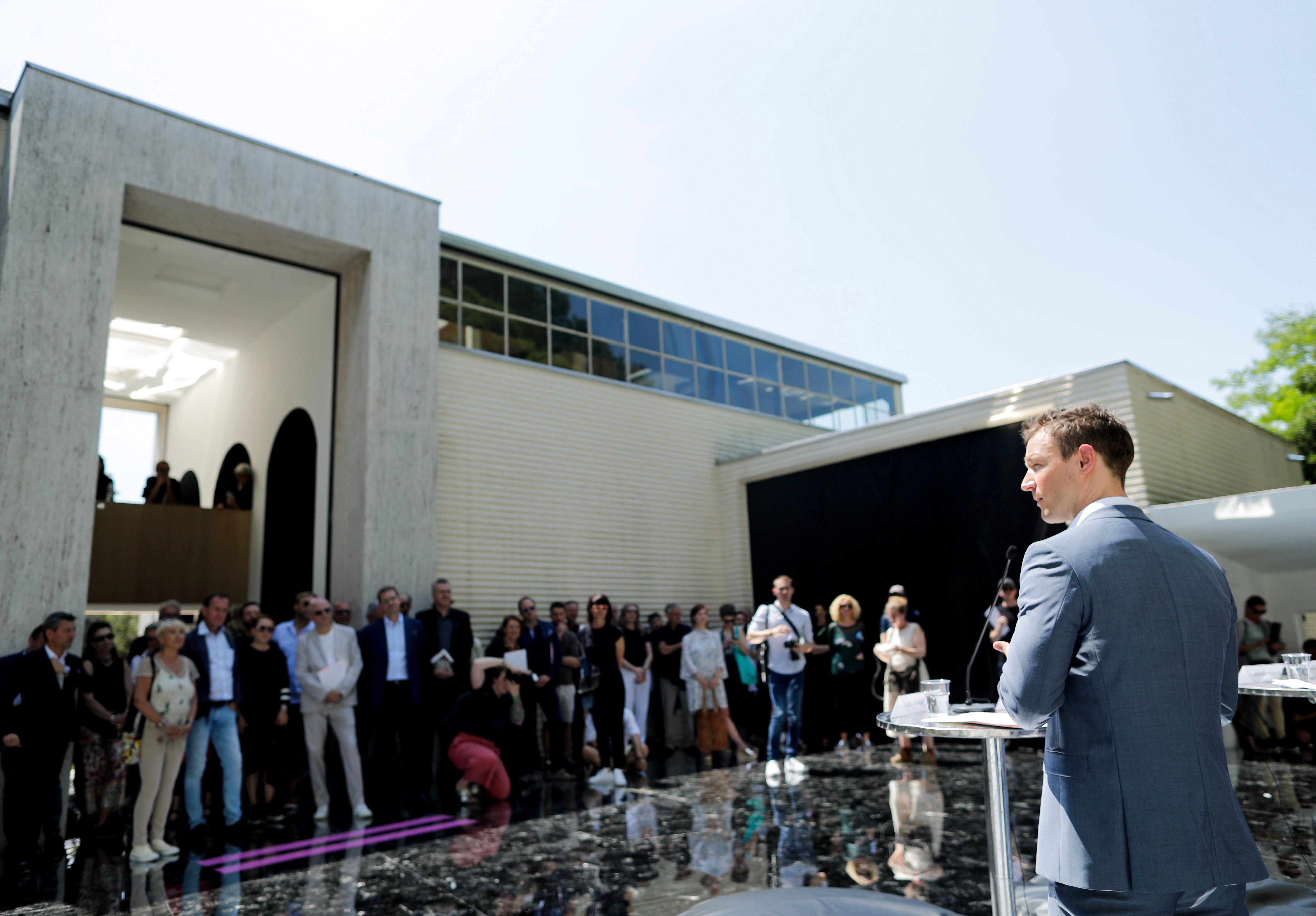 Eröffnung Österreich Pavillon, 24.5.2018 Foto: Andy Wenzel