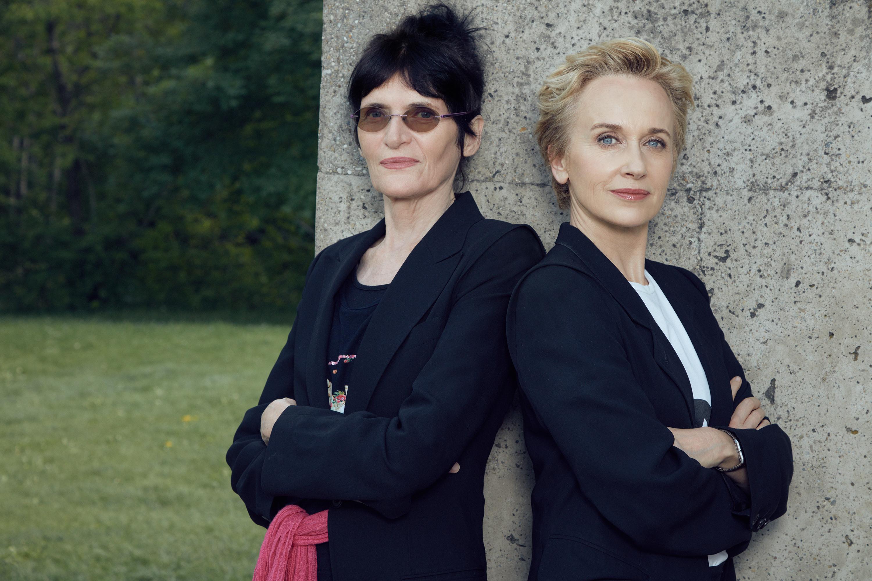 Renate Bertlmann, Felicitas Thun-Hohenstein Photo: Irina Gavrich