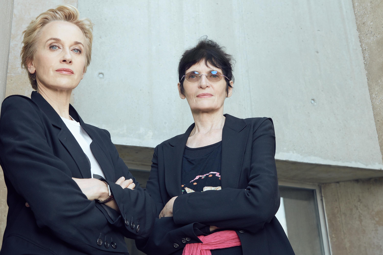 Felicitas Thun-Hohenstein, Renate Bertlmann Foto: Irina Gavrich
