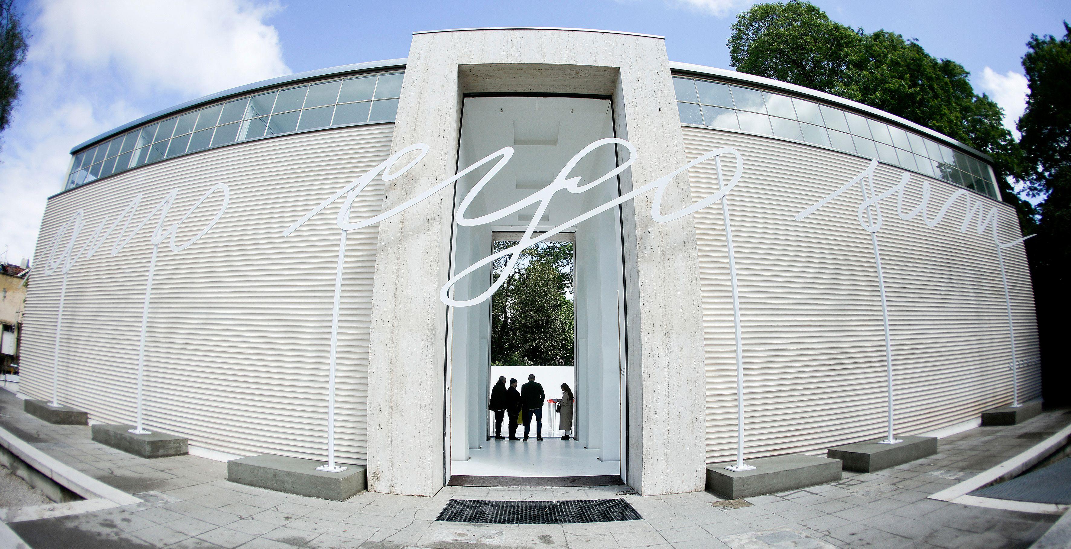 """Ausstellungseröffnung Österreich Pavillon auf der 58. Internationalen Kunstausstellung """"La Biennale di Venezia"""", 9.5.2019 Foto: Andy Wenzel, BKA"""