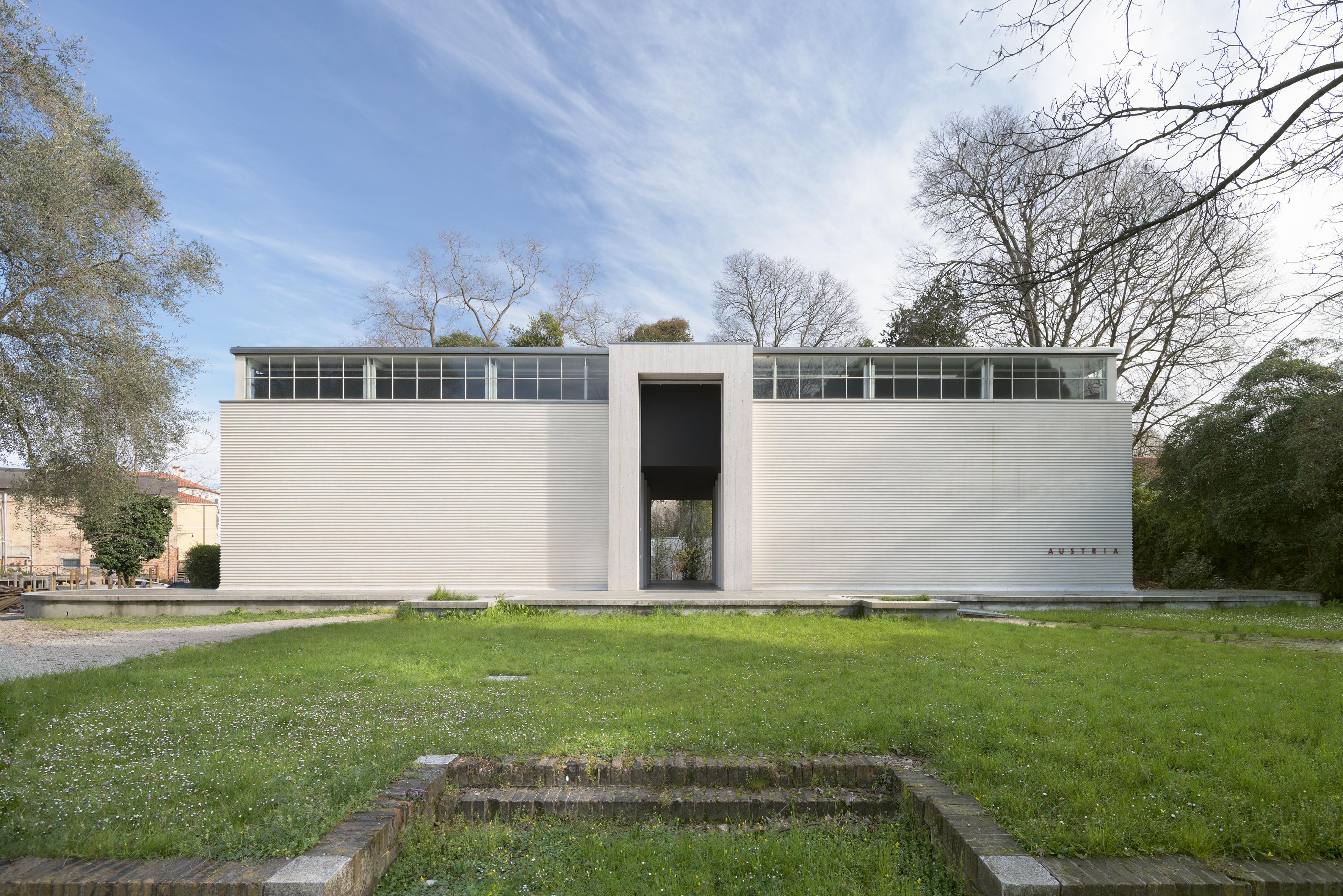 Der Österreichische Pavillon – La Biennale di Venezia, 2015, Archiv HZ Foto: Georg Petermichl