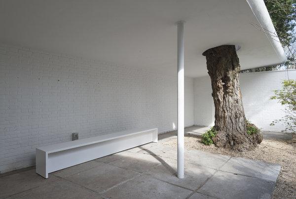 Der Österreichische Pavillon, 2015, Archiv HZ Foto: Georg Petermichl